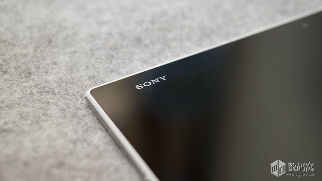 "Xperia Z2 Tablet ""Sony"" Logo"
