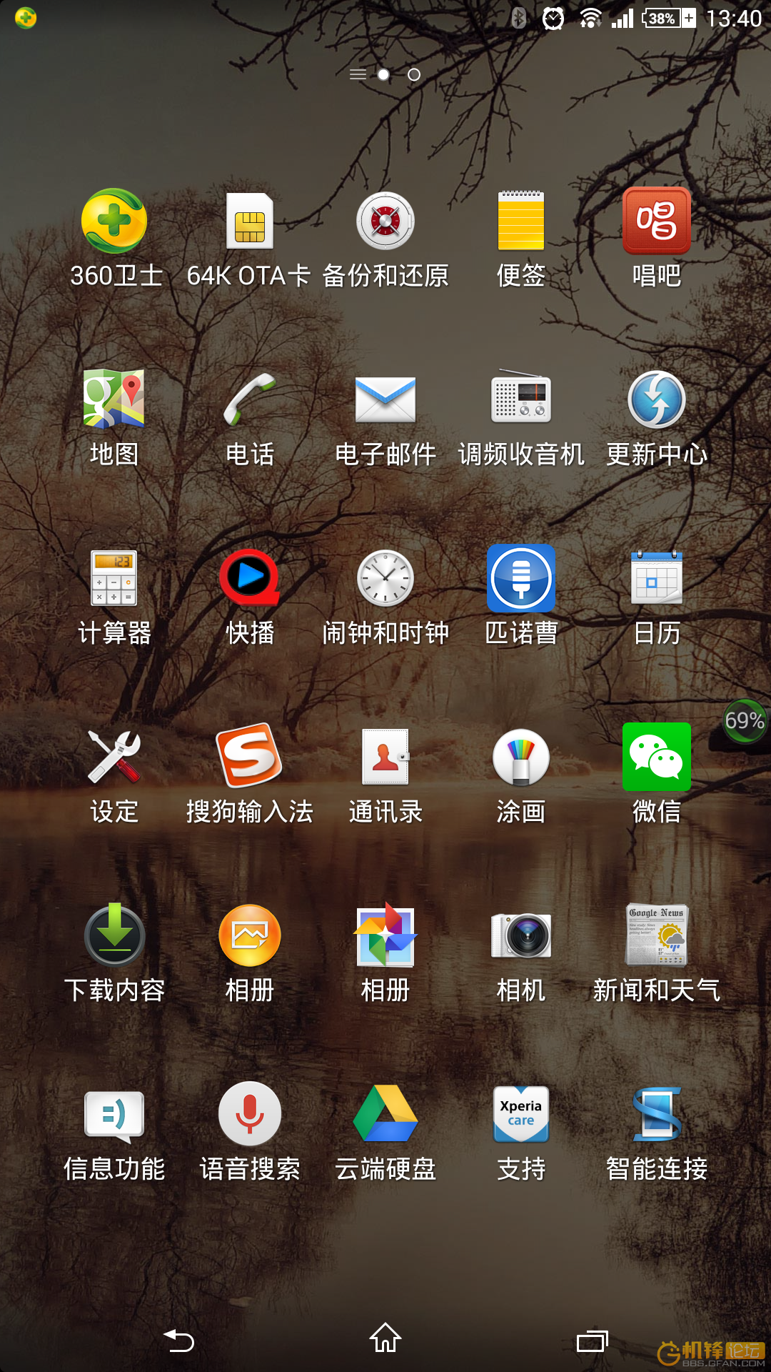 Xperia Z Ultra 14.3.A.0.681 Home Launcher