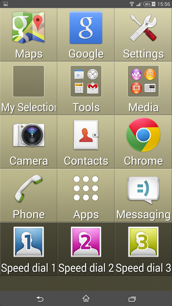 Xperia Z Ultra 14.3.A.0.681 Simple Home Launcher
