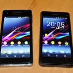 Xperia Z1 Compact Vs Xperia V Display Comparison Photos