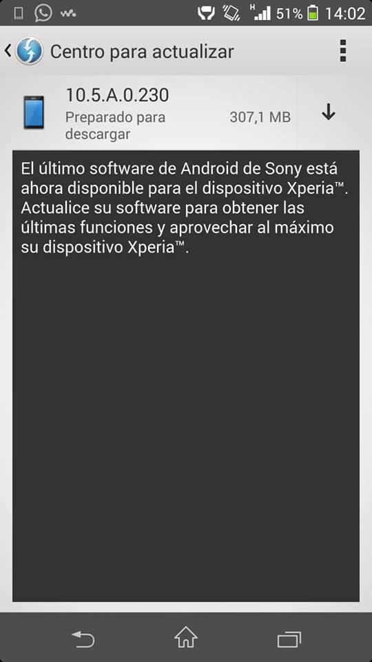 10.5.A.0.230 firmware Xperia Z