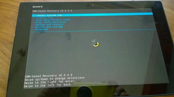 Root Xperia Z2 Tablet SGP511