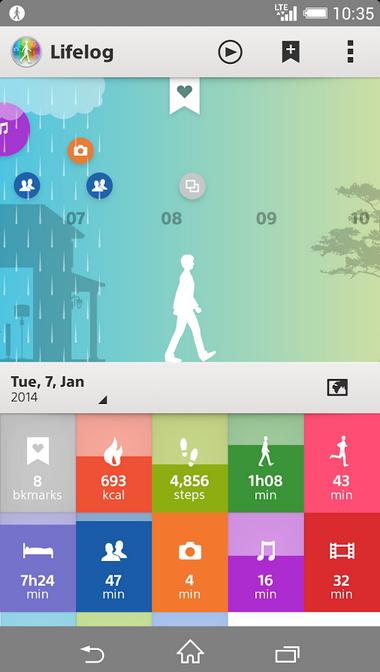 Sony LifeLog app apk