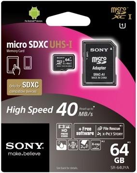 Sony SRAC-A1 SD card adapter