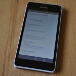Xperia E1 20.0.A.1.21 firmware minor bug fixing update rolling