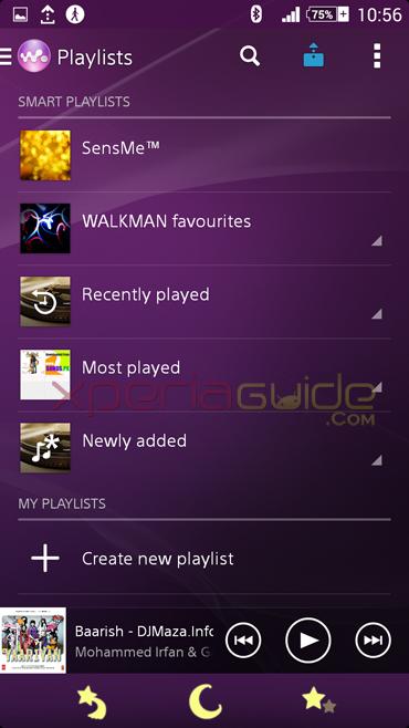 Walkman 8.3.A.0.2 app Xperia Z2
