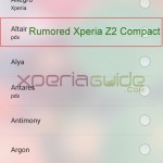 Xperia Altair name spotted in Xperia Z1 Ringtones list with other Xperia devices – Coincidence or Nomenclature ?