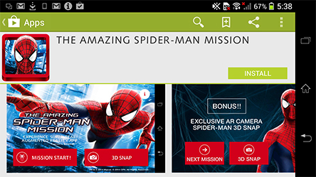 Download The Amazing Spider-Man Mission app