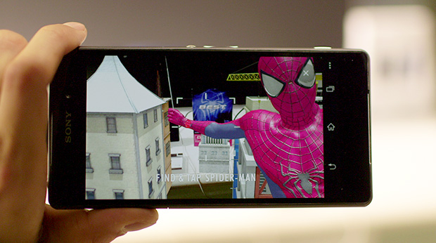 The Amazing Spider-Man Mission app from Sony