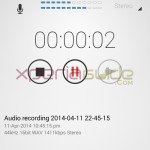 Download Xperia Z2 STM10 Audio Recorder app for any Xperia device