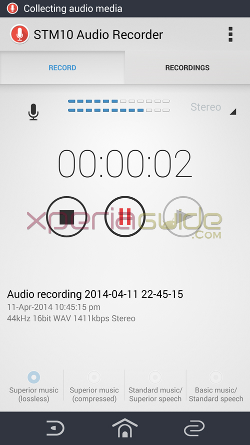 STM10 Audio Recorder app apk