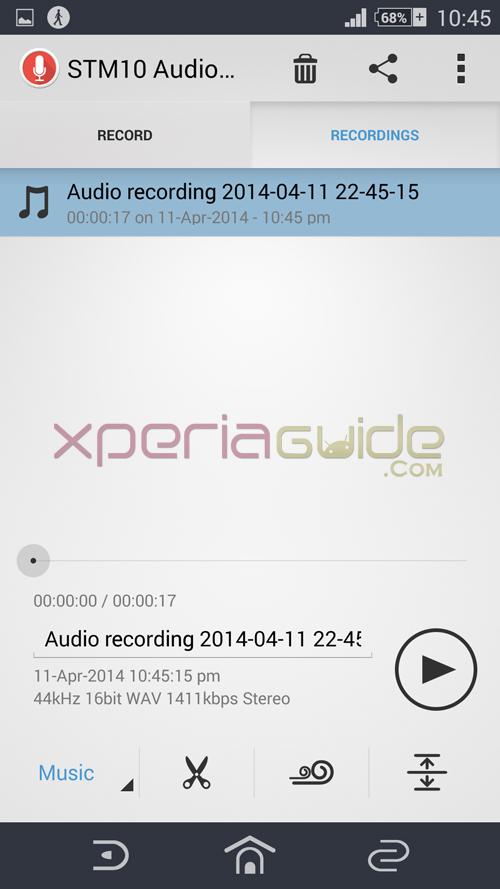 STM10 Recording app apk
