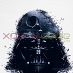 Download Darth Vader poster from Star Wars Identities exhibition at Paris via Xperia Lounge App