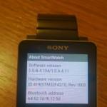 Sony SmartWatch 2 1.0.B.4.154/1.0.A.4.11 firmware rolling