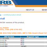 Xperia Z2, Z2 Tablet 17.1.1.A.0.402 firmware certified on PTCRB