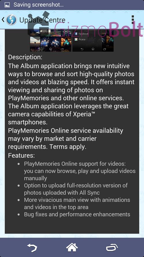 Album 6.1.A.0.14 app