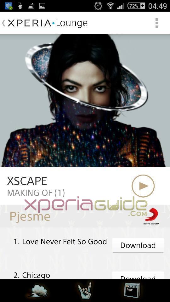 Michael Jackson XSCAPE album free download