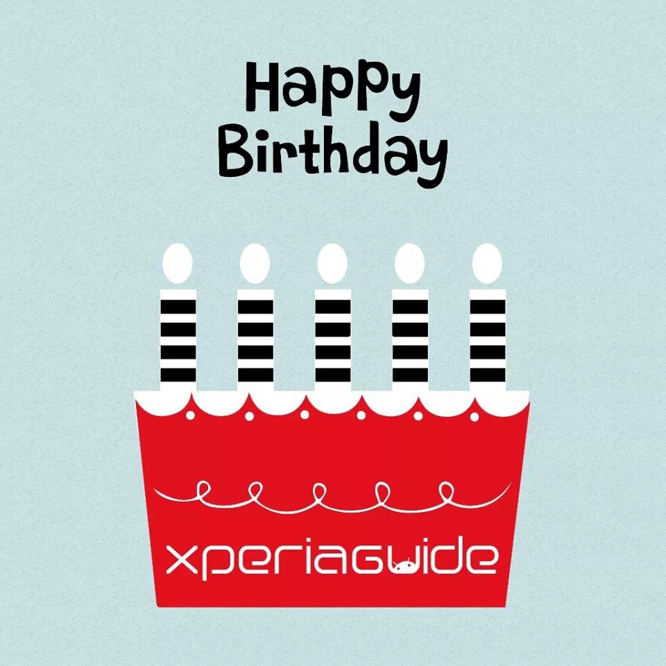 Xperia Guide Birthday Anniversery