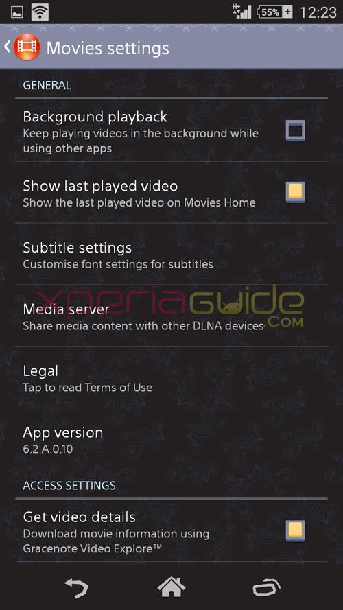 Movies 6.2.A.0.10 app apk