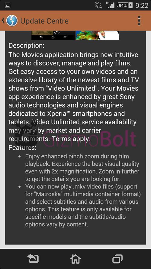 Movies 7.0.A.0.8 apk