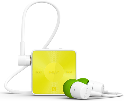 Sony SBH20 Brazil Edition Lime color headset