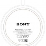 Sony WCH10 Wireless Charging plate certified at FCC officially