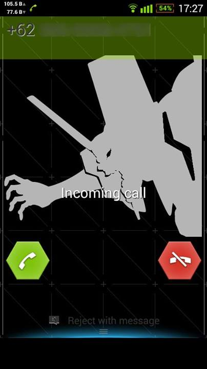 Xperia Evangelion NERV SH06D Theme
