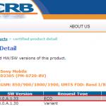Xperia M2 18.0.A.1.33, 18.0.C.1.15 firmware certified