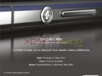 Xperia Z2 launch press event Invite India