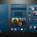 Install custom Xperia Aneurysm theme on your Xperia device