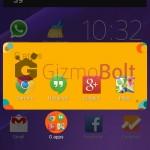 Install Xperia theme RetroPopArt, CircleVaganza, PubOldFriendly, NightCity, Fantasy, StarrySky from app maker Green