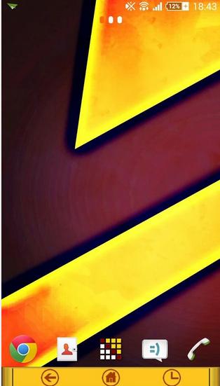 Xperia Yellow Theme