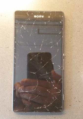 Xperia Z2 self cracking screen