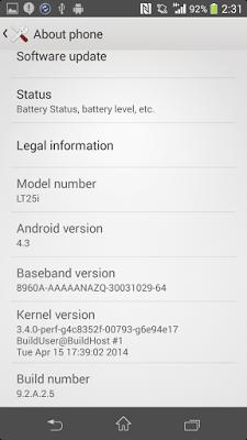 9.2.A.2.5 firmware details