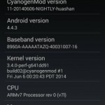 Android 4.4.3 CyanogenMod 11 Nightlies rolled for Xperia SP