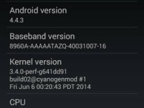 Android 4.4.3 CyanogenMod 11 Nightlies for Xperia SP