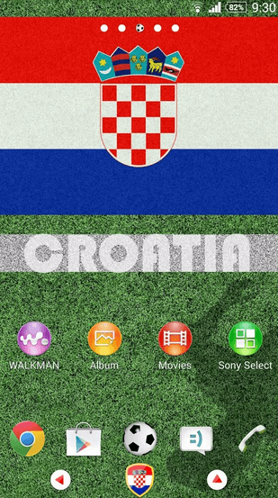Croatia Theme for Xperia apk