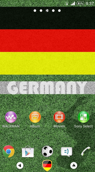 Germany Theme for Xperia apk