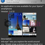 Sony Info-eye 1.4.10 app update rolled out – Improved UI