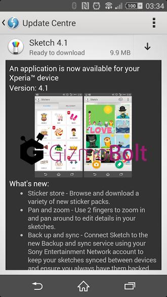 Sketch app 4.1 update