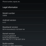 Android 4.4.3 KTU84L.S1.3056 build rolling for Sony Z Ultra C6806 Google Play Edition