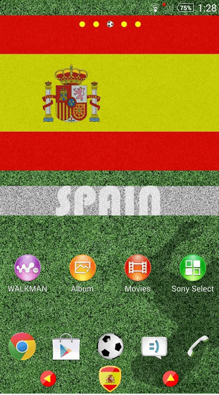 Spain Theme for Xperia