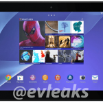 Verizon Xperia Z2 Tablet press pictures leaked