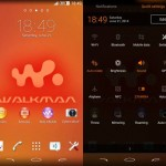 Install My Xperia Theme, WALKMAN X Theme on rooted Xperia device