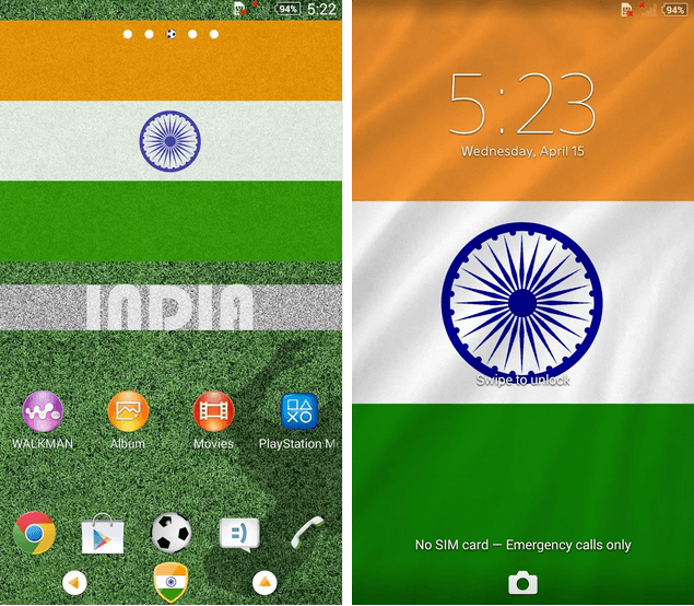 Xperia India Theme