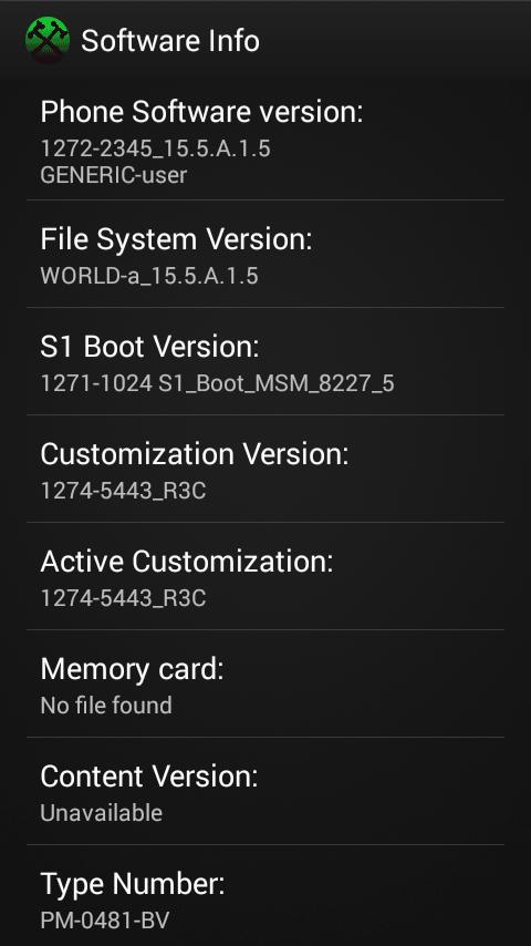 Xperia M Dual 15.5.A.1.5 firmware ftf