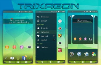 Xperia TriXagon theme