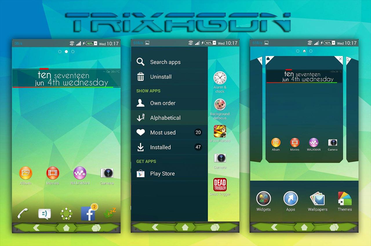 Xperia TriXagon theme