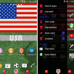 Install Xperia FIFA India Theme, USA, Iran, Turkey, Albania, Schweiz, Saudi Arabia, Bosnia, Algeria Themes