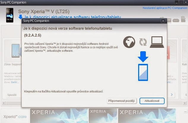 Xperia V 9.2.A.2.5 firmware